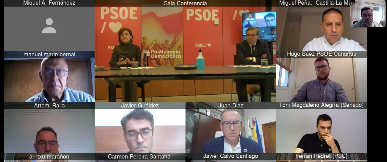 """El PSOE valora el """"avance"""" de las políticas de Memoria que plantea el Gobierno de España"""