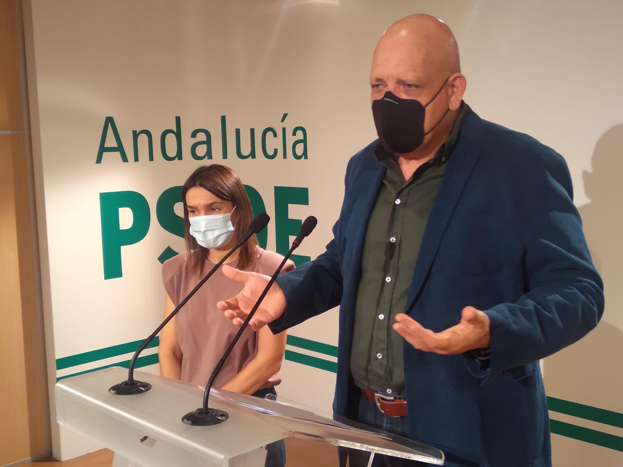 El PSOE exige a Pablo García explicaciones sobre el Plan Andalucía en Marcha en la provincia