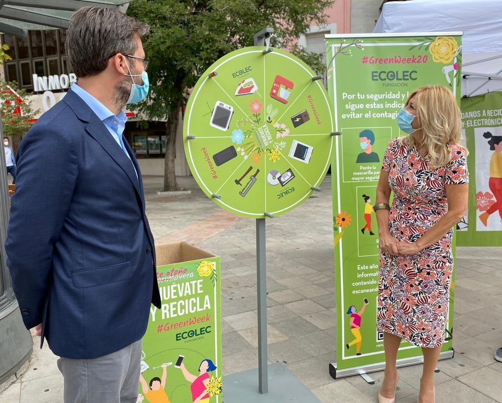 Granada acogerá una campaña para impulsar el reciclaje de aparatos electrónicos