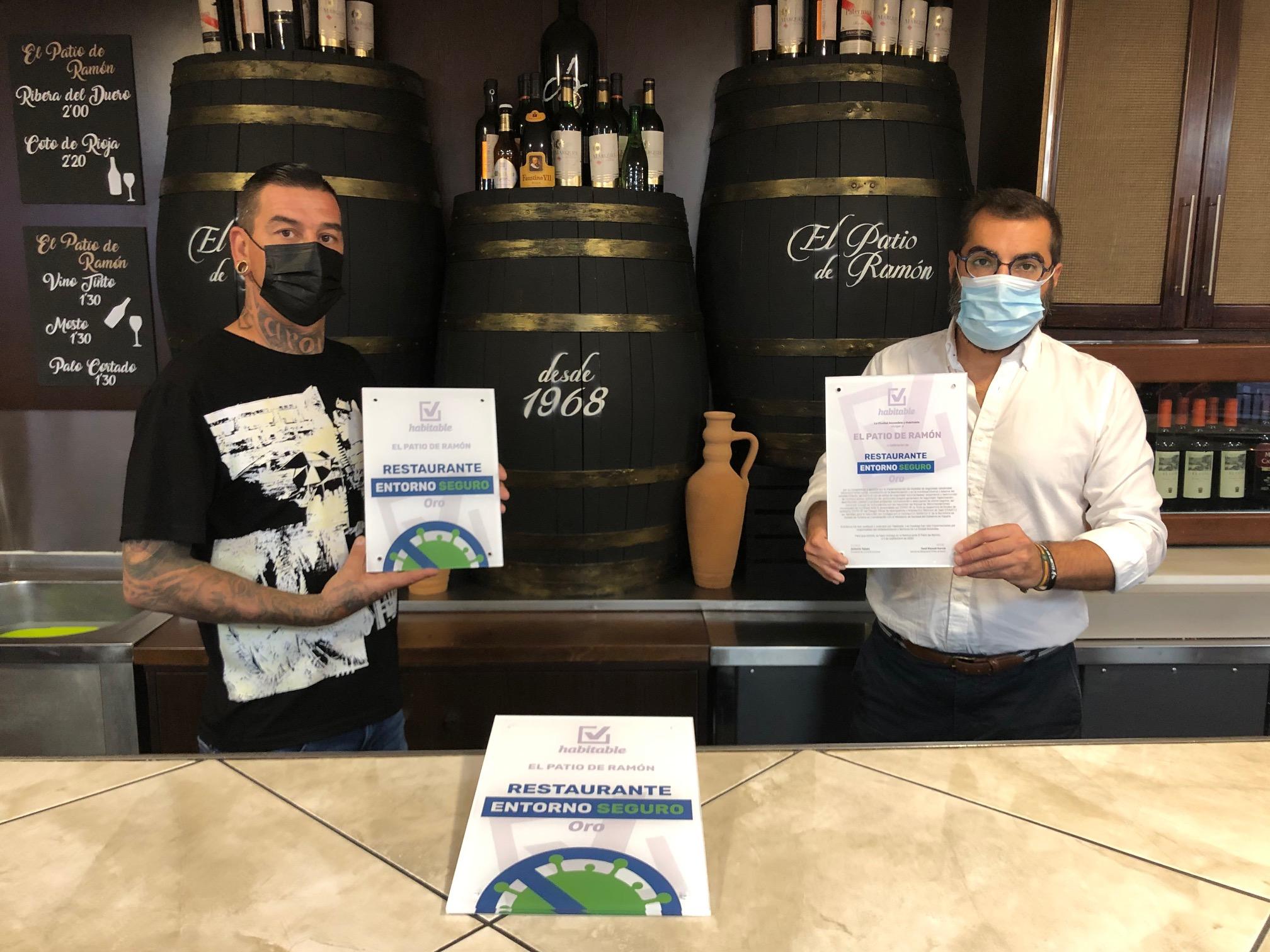 Maracena tiene ya su primer restaurante con el distintivo 'Entorno Seguro' de la COVID-19