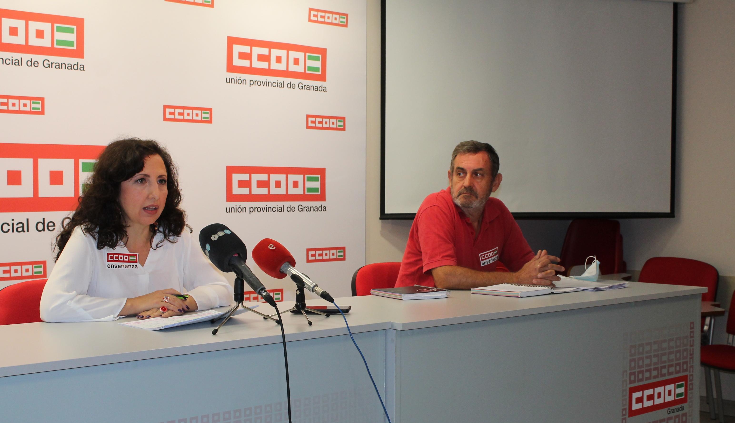 CCOO protesta contra la contratación de personal externo para apoyo contra el Covid-19