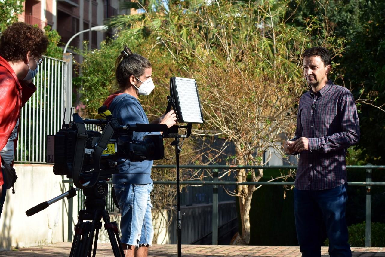 """""""La Aventura del Saber"""" rueda en Granada un documental sobre Aixa y Zoraida"""