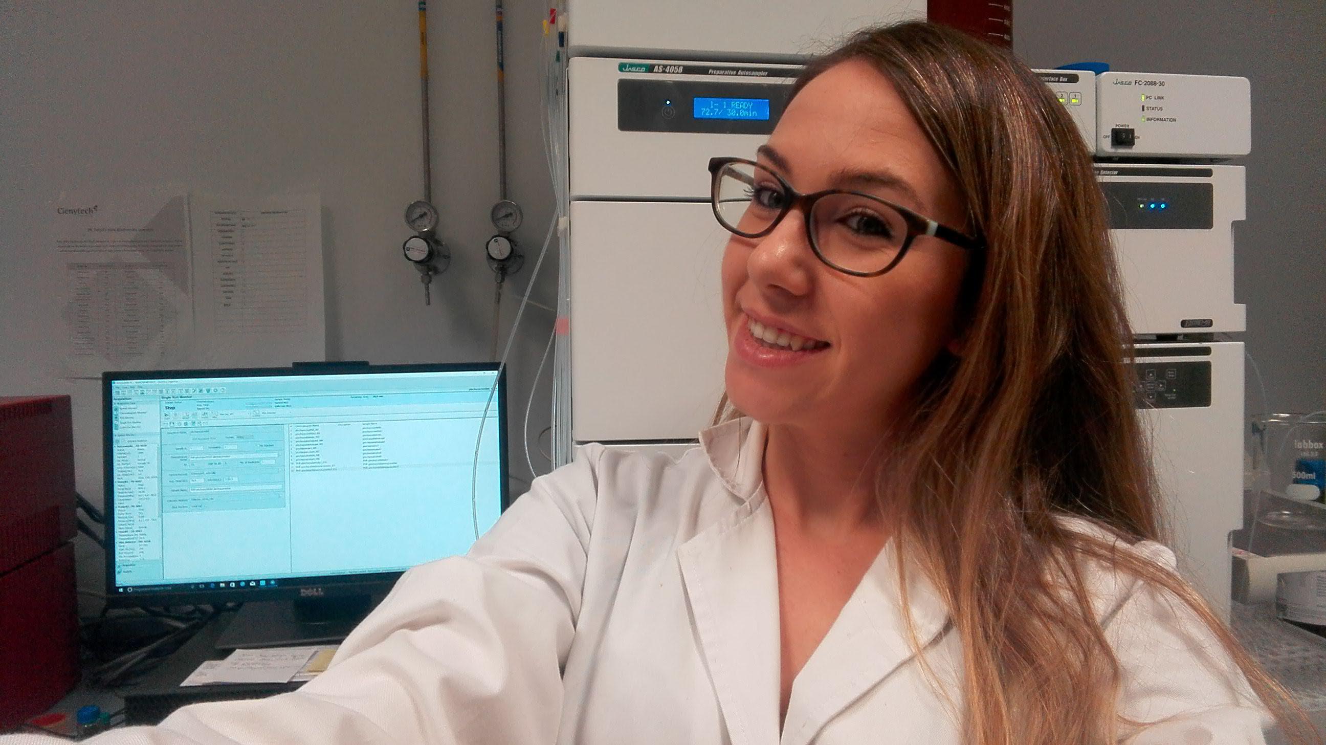 La Real Sociedad Española de Química  premia a la doctora granadina Pilar Herrero Foncubierta