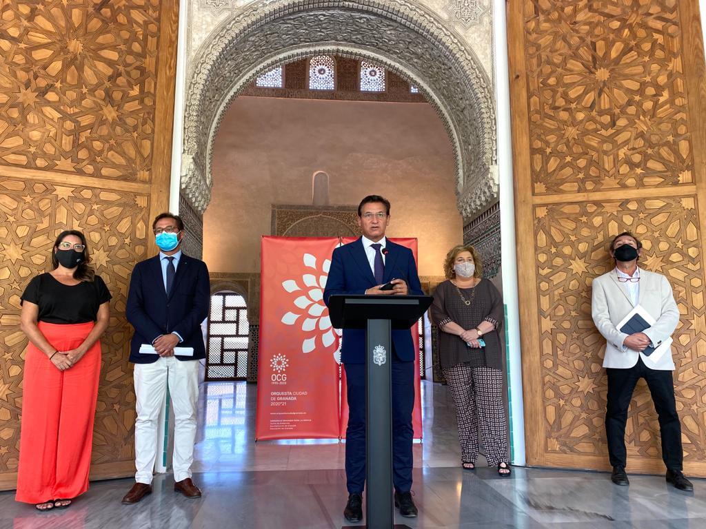 Otoño musical en Granada con la OCG  estrenando nuevo director artístico paras los próximos tres años