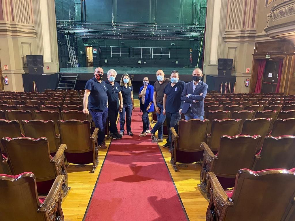 El Teatro Isabel la Católica activa el protocolo anticovid y abrirá sus puertas en octubre