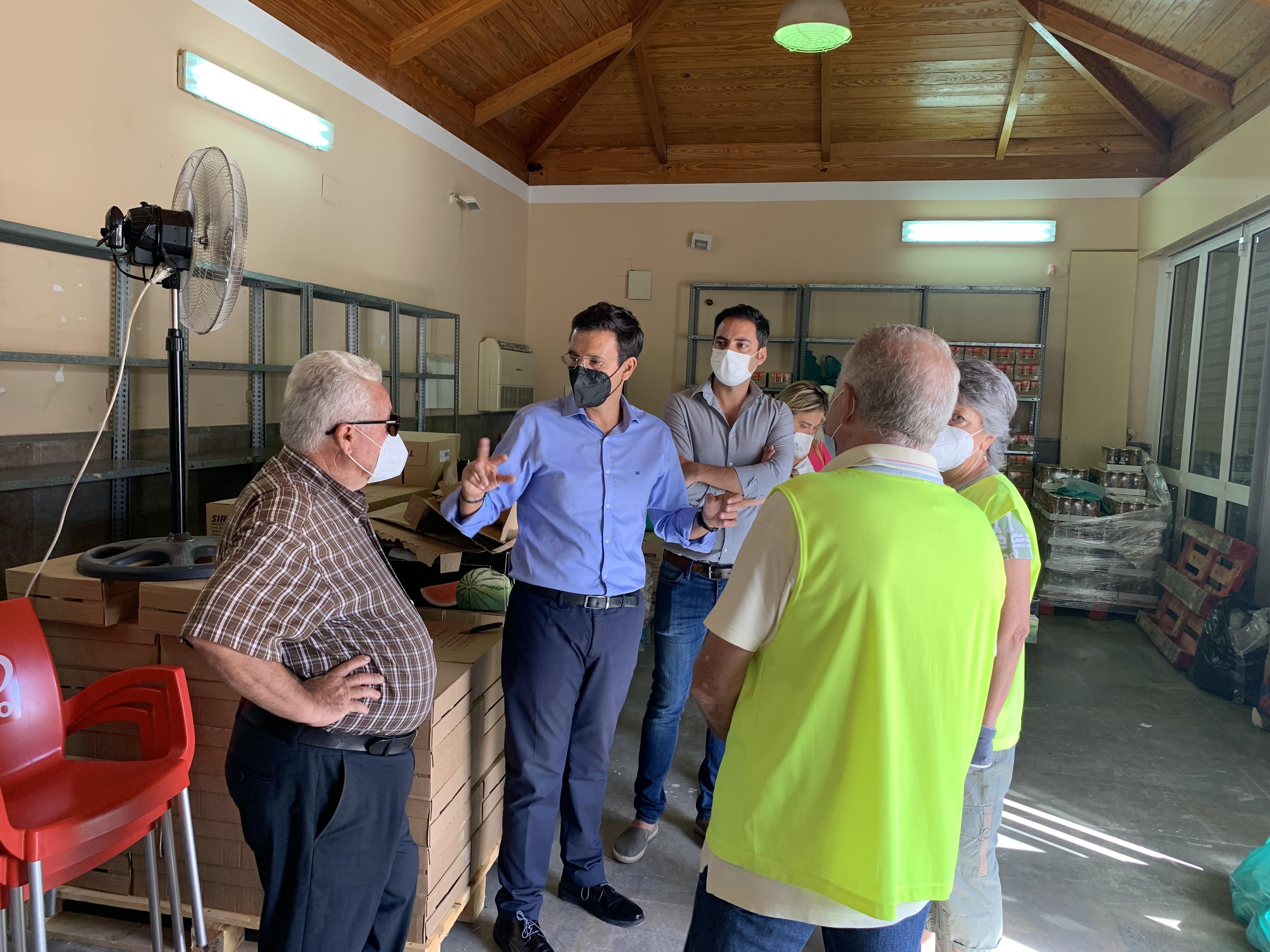 El PSOE critica la dejadez del equipo de gobierno en la gestión del reparto de comida