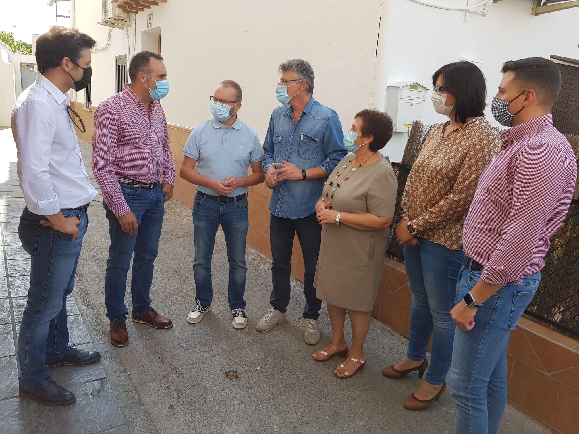 Rodríguez asegura que el objetivo prioritario del PP es recuperar el diputado provincial de Baza-Huéscar