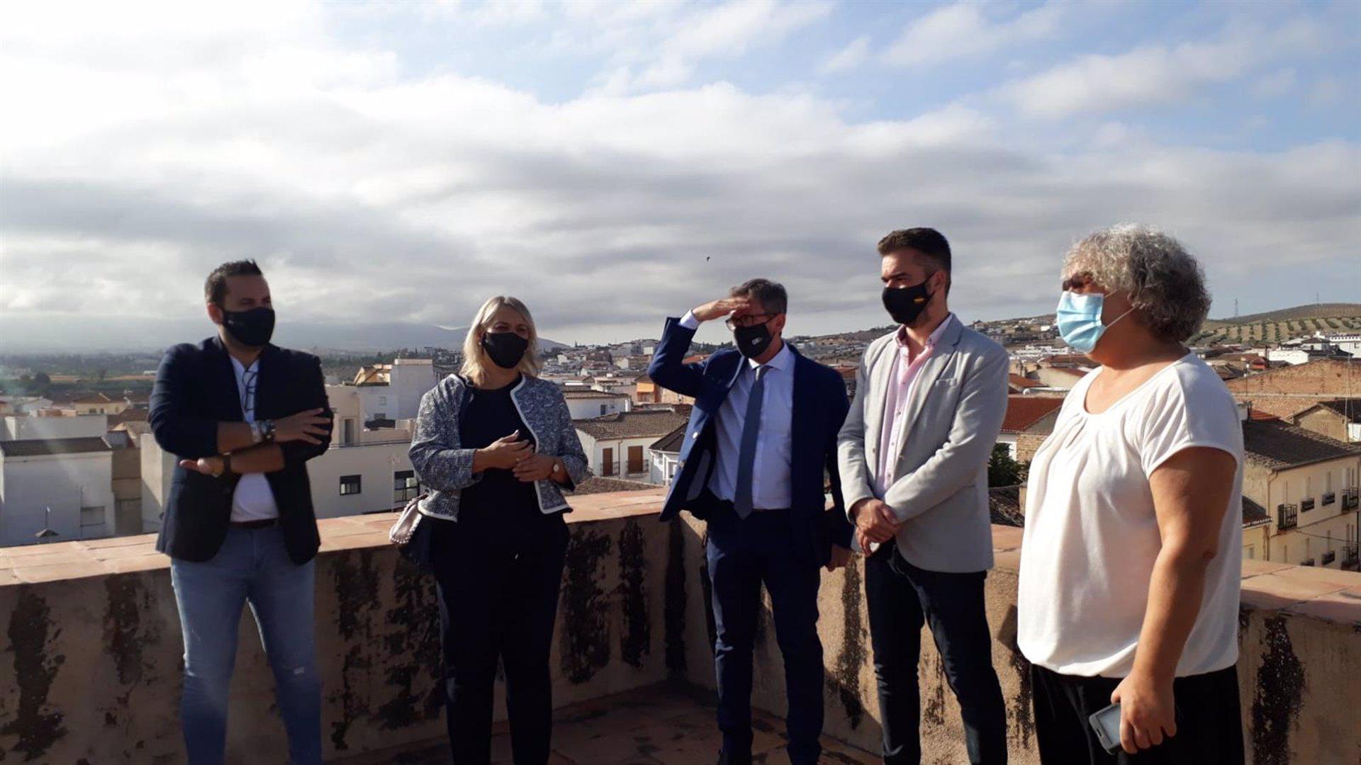 La Junta contribuye con 110.000 euros en las reparaciones de los daños de la DANA en Las Gabias