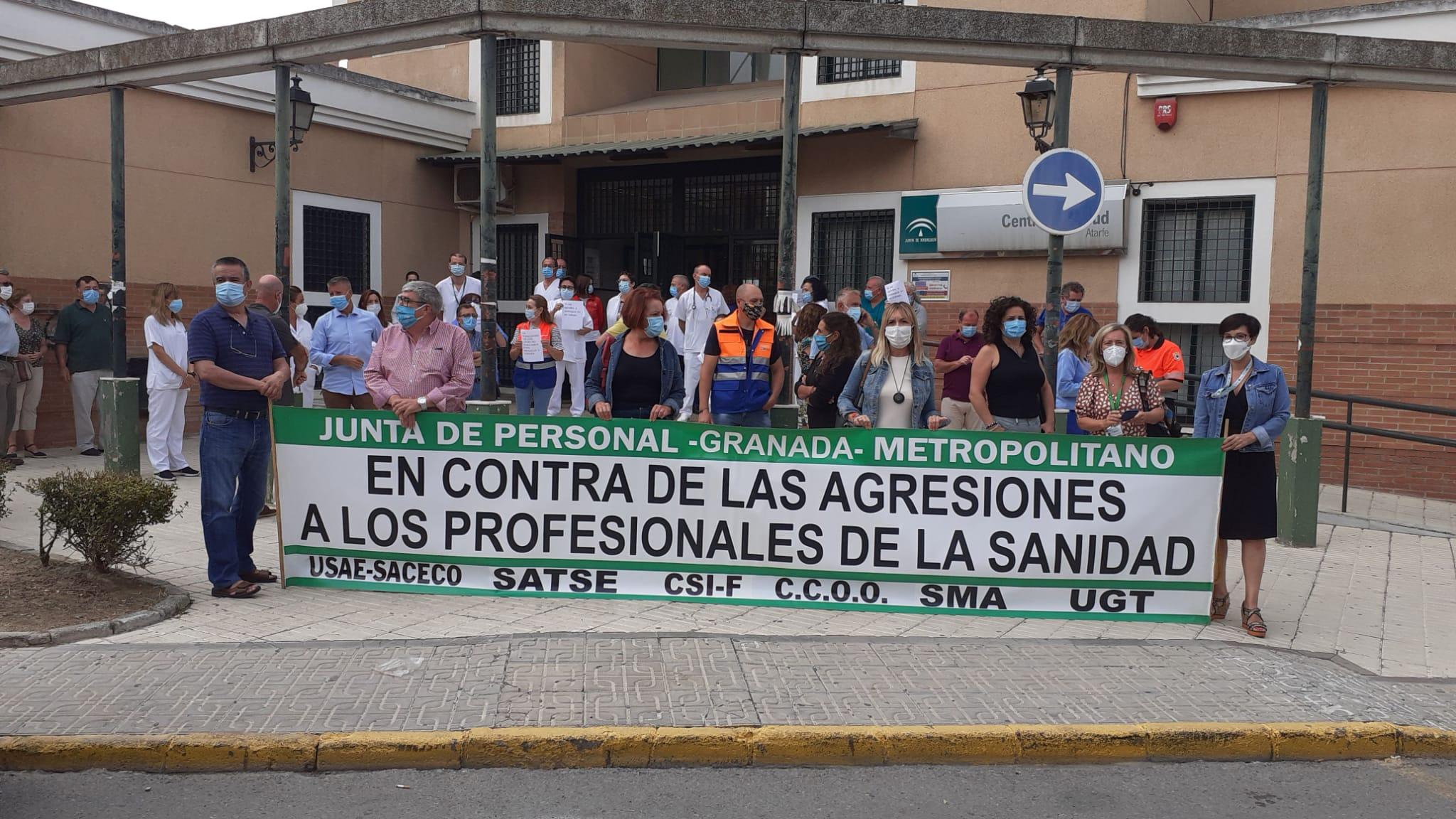 Condenan la agresión a un profesional sanitario en Atarfe