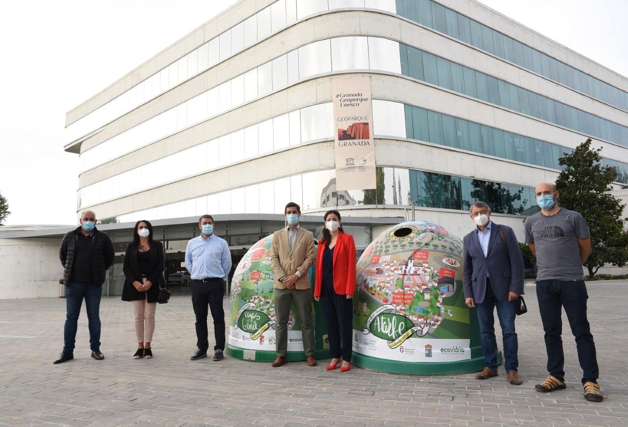 """5 municipios tendrán contenedores de vidrio """"personalizados"""" por su compromiso con el reciclaje"""