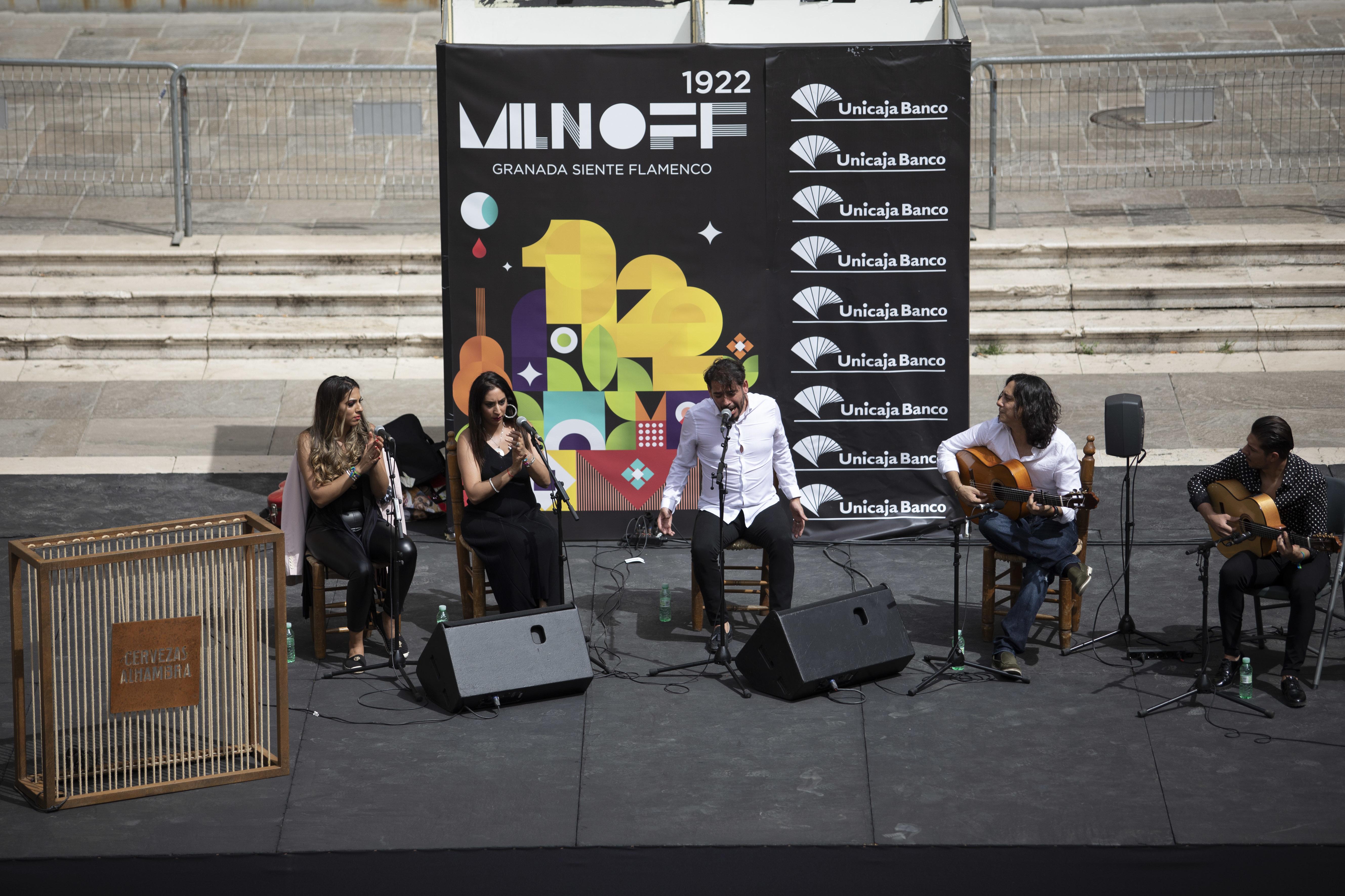 El cante ha sido el protagonista en el último día de Plazoletas del Festival Flamenco Milnoff.
