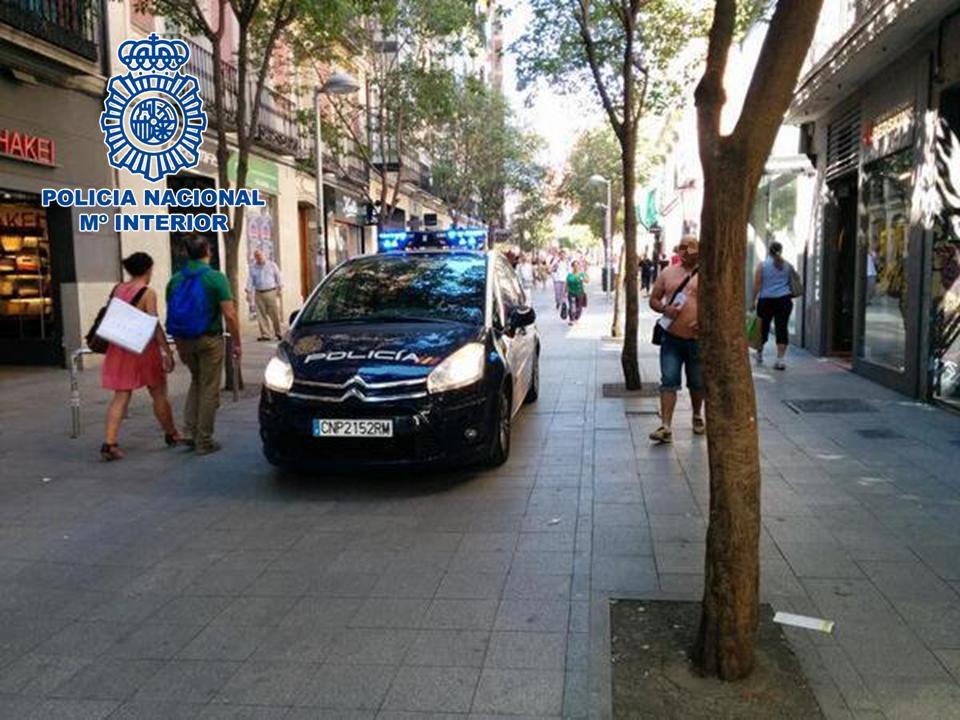 """Detenido a un activo """"descuidero"""" por el hurto de un bolso con más de 3.000 euros"""
