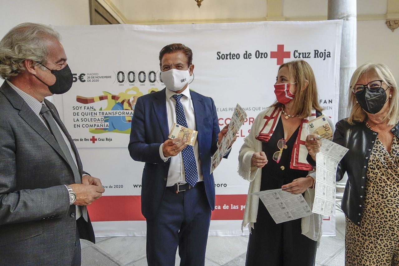 Cruz roja pide participación en la presentación del Sorteo del Oro