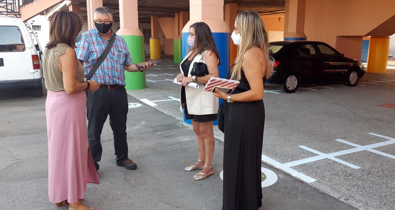 El Ayuntamiento de Huétor Vega colabora para que el retorno al colegio sea lo más seguro posible