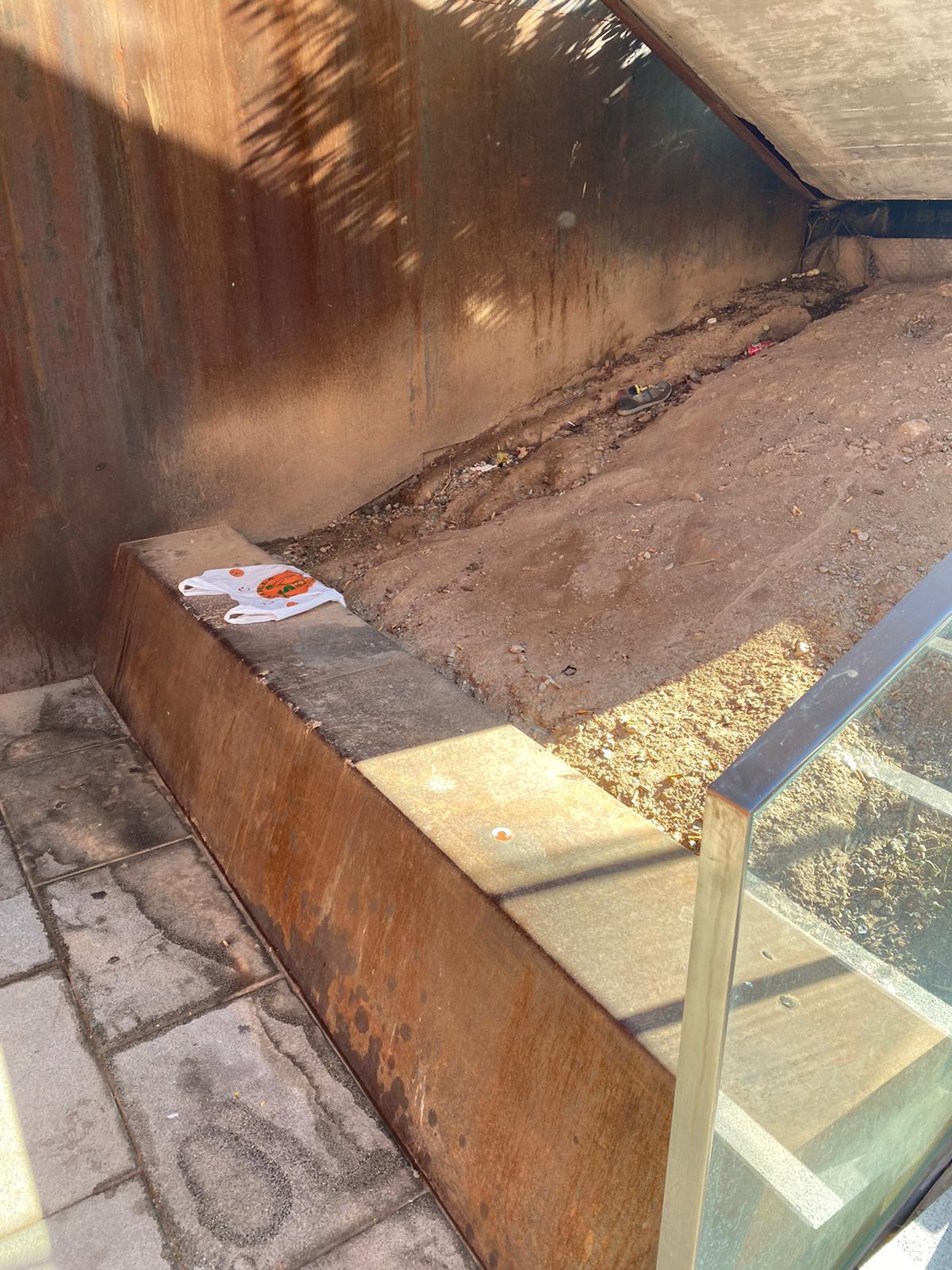 VOX denuncia los problemas de seguridad y limpieza en La Caleta y el entorno del Hospital Virgen de las Nieves