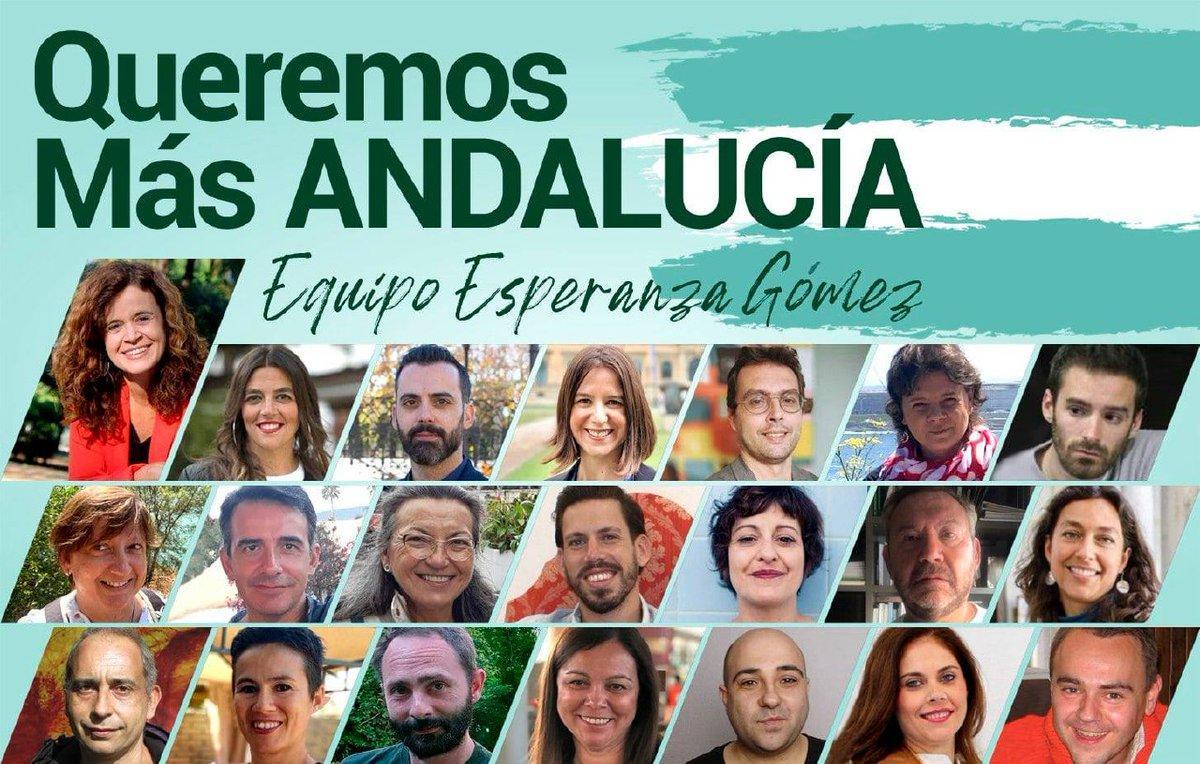 Tres candidatos de Vamos Granada en la lista de Esperanza Gómez para la ejecutiva andaluza de Más País