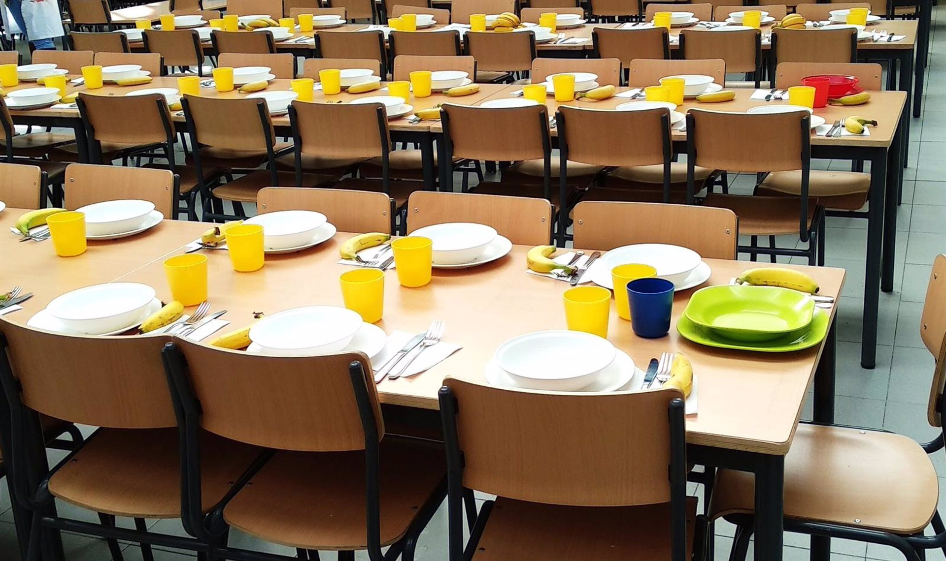 El 3 de noviembre está previsto que se reinicie el servicio de comedor de ocho centros educativos