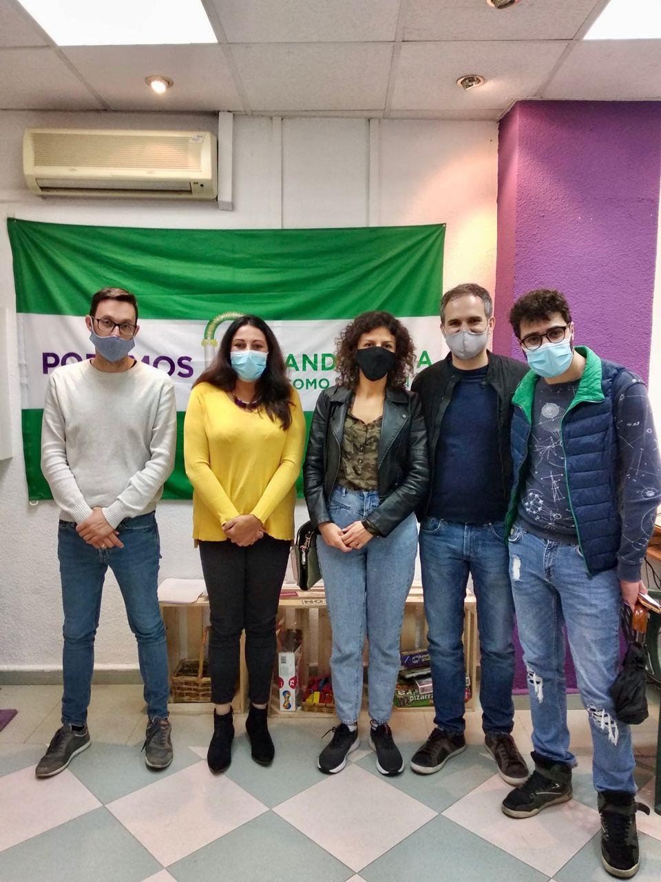 Alejandra Durán se reúne con el Colectivo Armenio de Granada