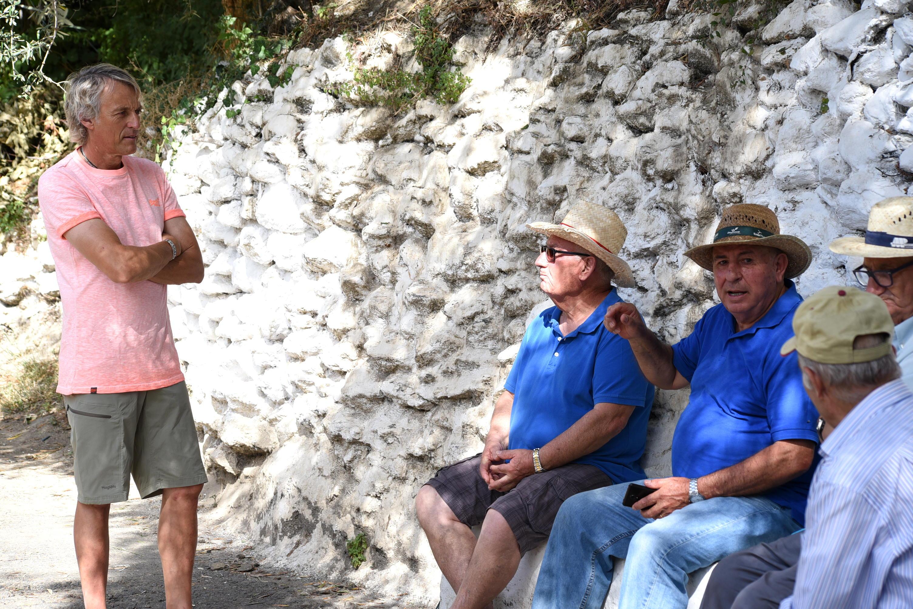Mañana se estrena el programa que Jesús Calleja grabó en la Alpujarra