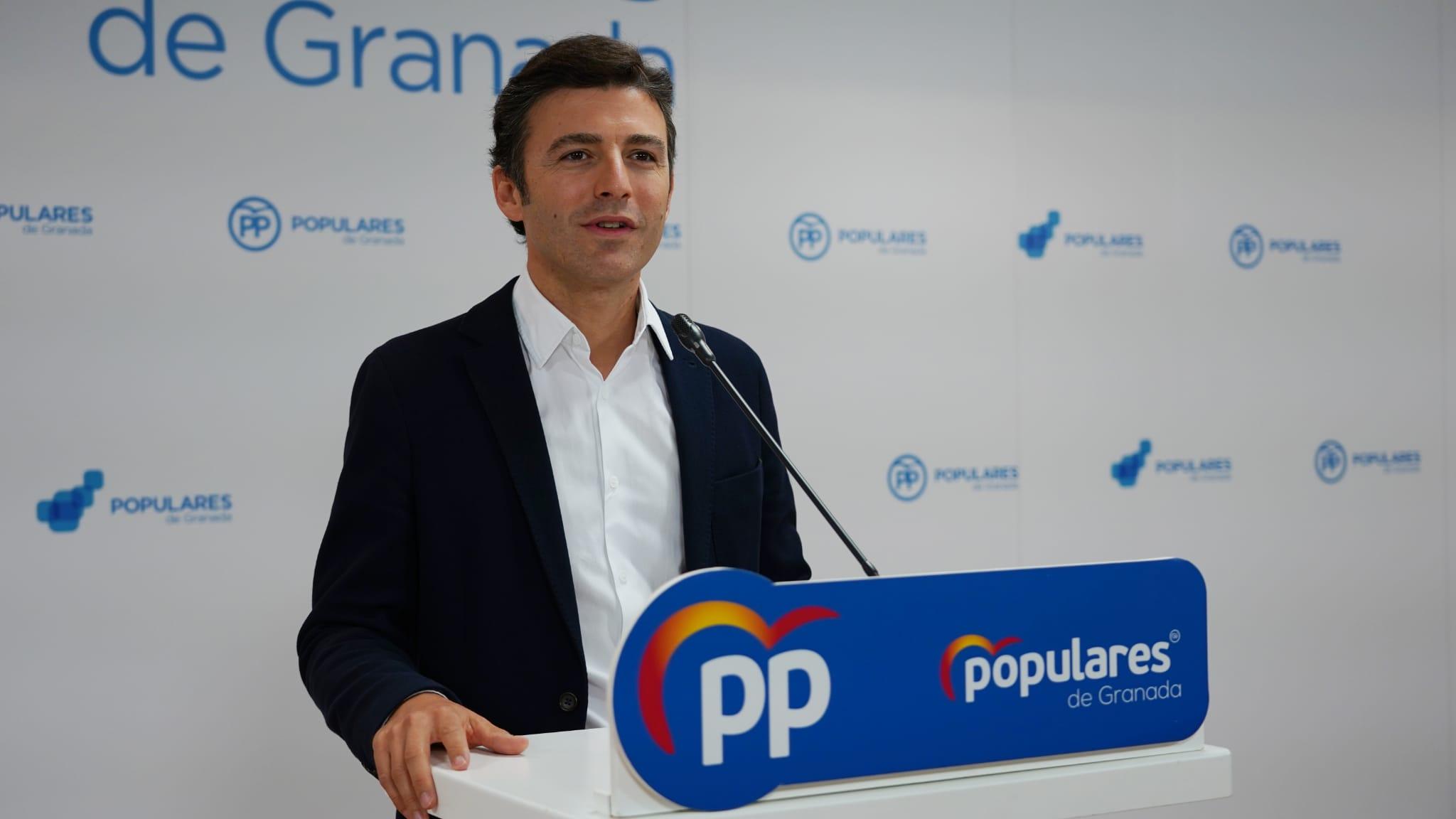 El PP trabaja para recuperar la alcaldía pero «hacen falta 14 votos» que no están «garantizados», según su Secretario General