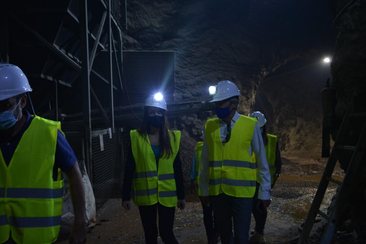 La Junta respalda el proyecto de diversificación de la mina de Órgiva