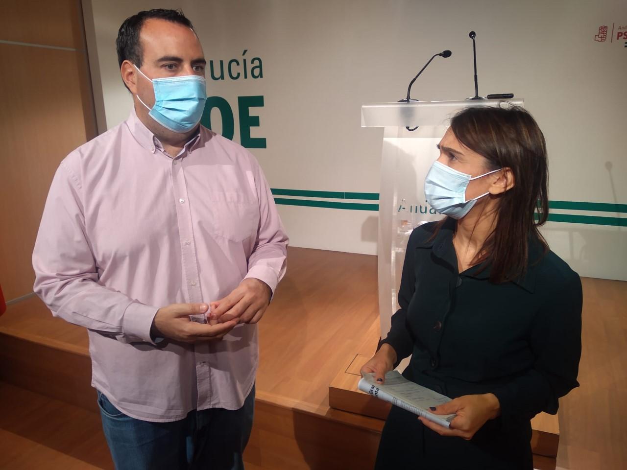 """El PSOE censura que la Junta """"fije su prioridad"""" en el aumento de altos cargos en plena tercera ola del Covid-19"""