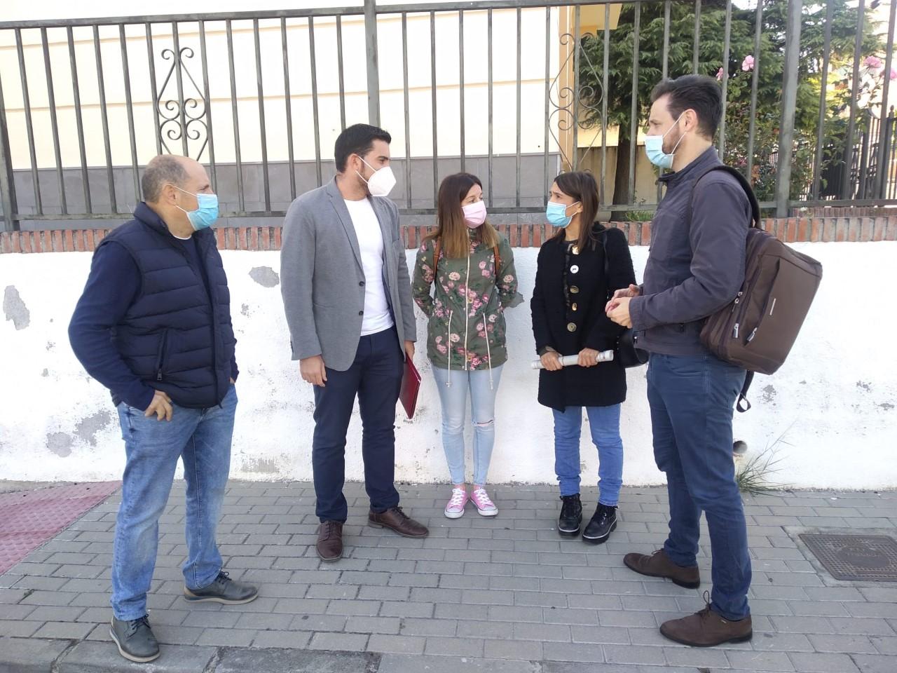 El PSOE pide a Educación que atienda las demandas educativas de Dúrcal, que trasladará al Parlamento