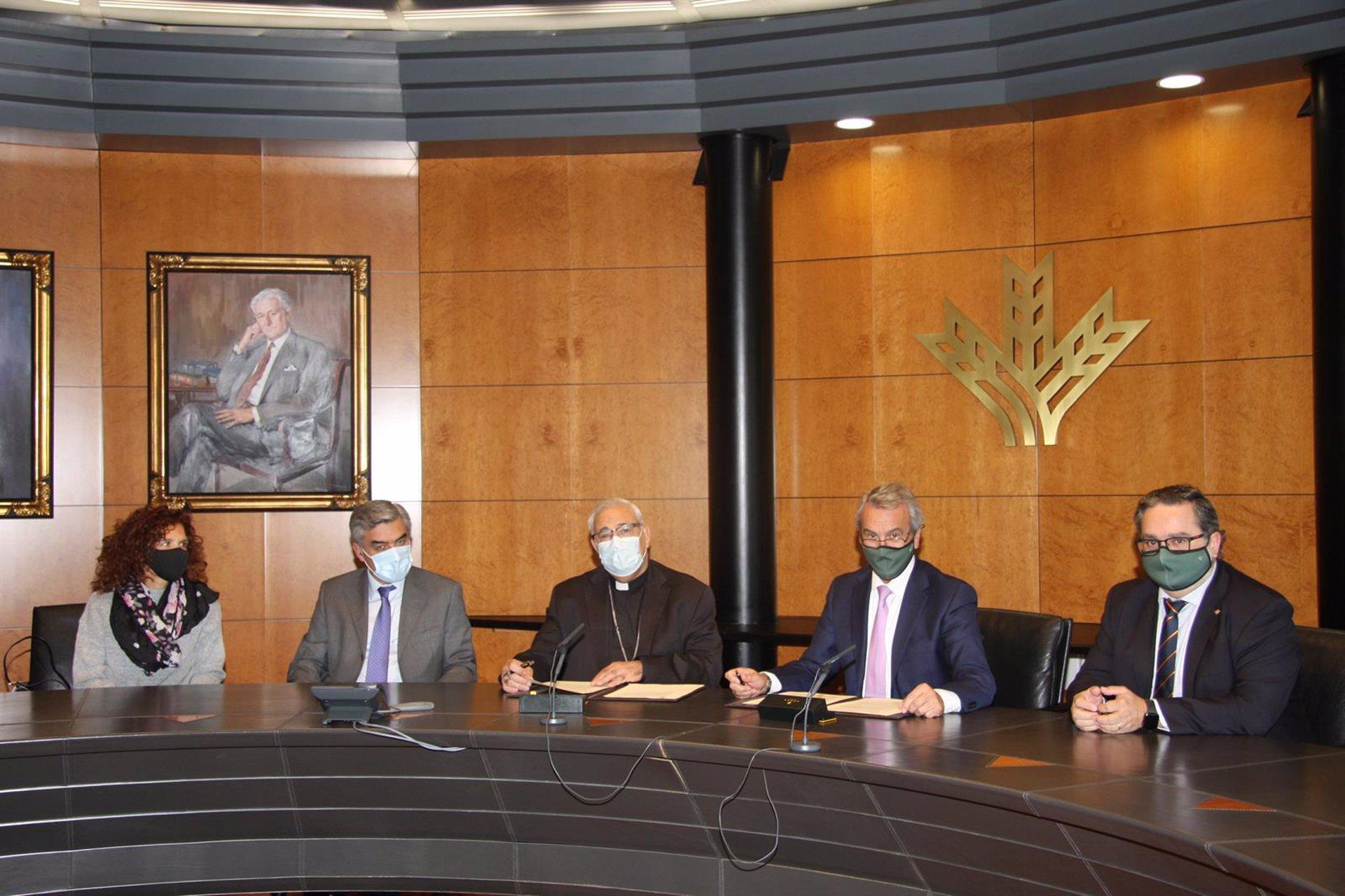 Caja Rural renueva su apoyo financiero al Arzobispado