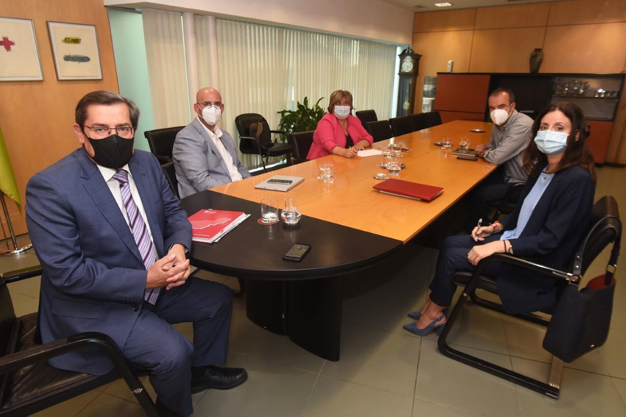 Encuentro de Entrena con la Mancomunidad de Municipios de Baza