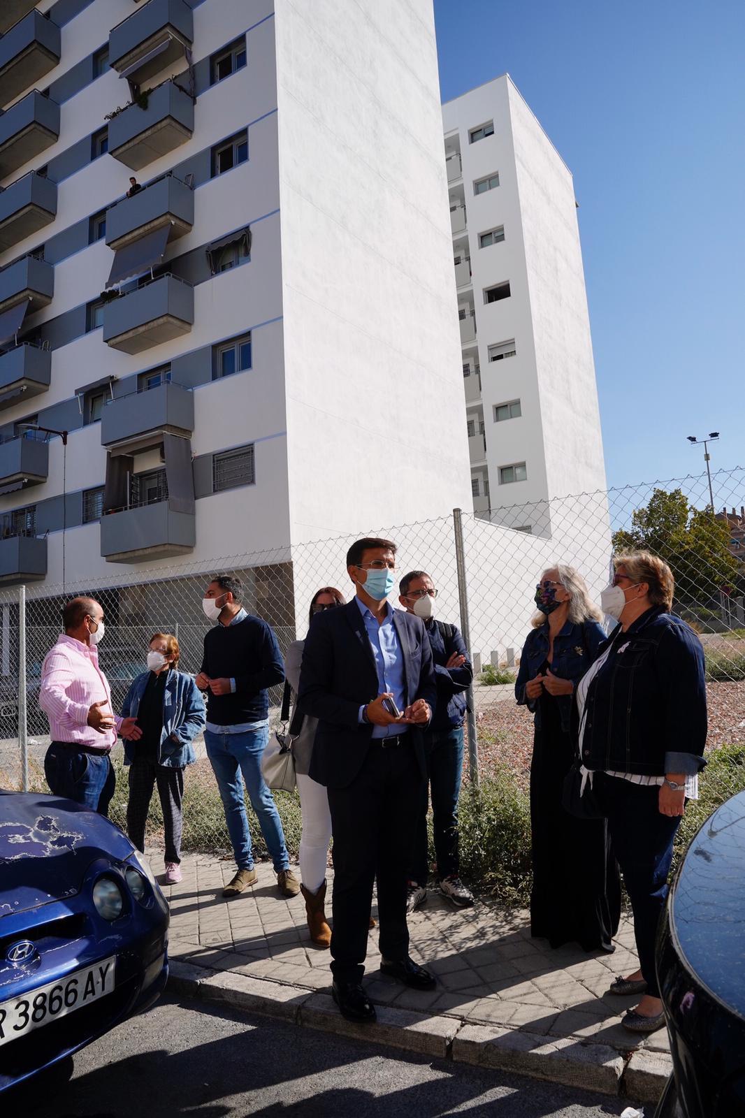 Moreno Bonilla «deja tirados» a los vecinos de Santa Adela según afirma el PSOE