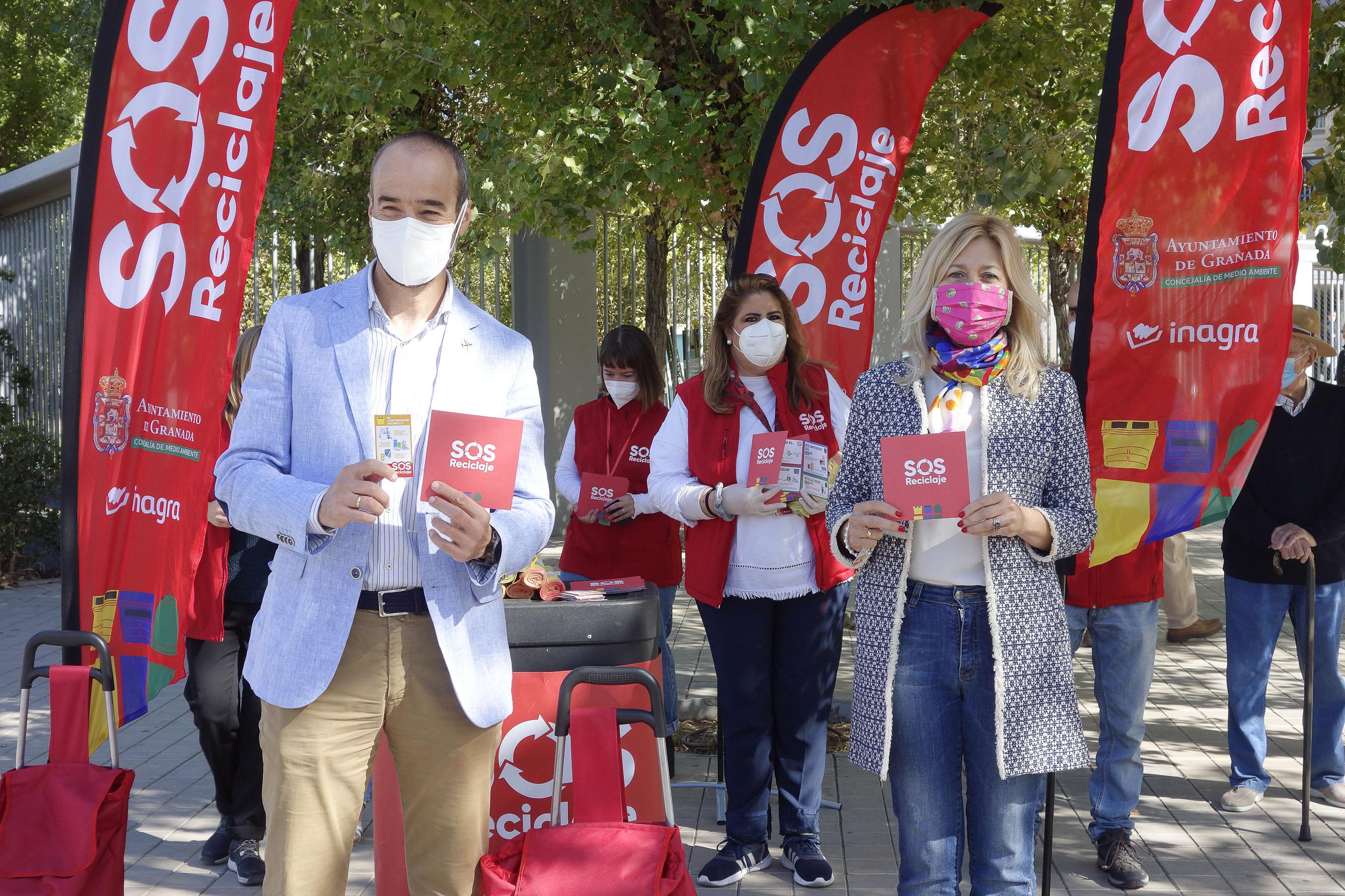 La campaña 'SOS reciclaje' se extiende al Distrito Norte