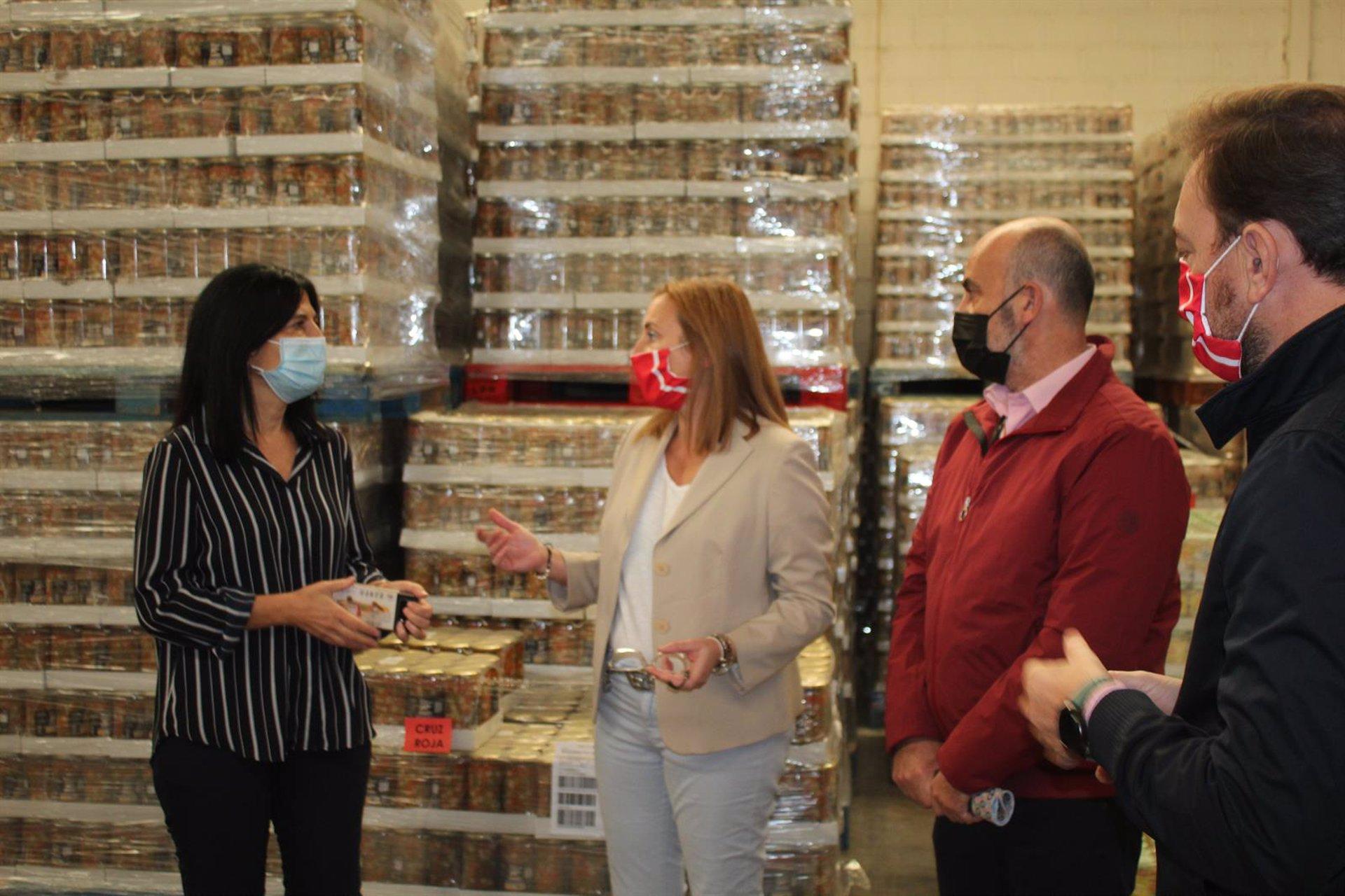 El Gobierno distribuye 811 toneladas de alimentos en segunda fase de programa de ayuda