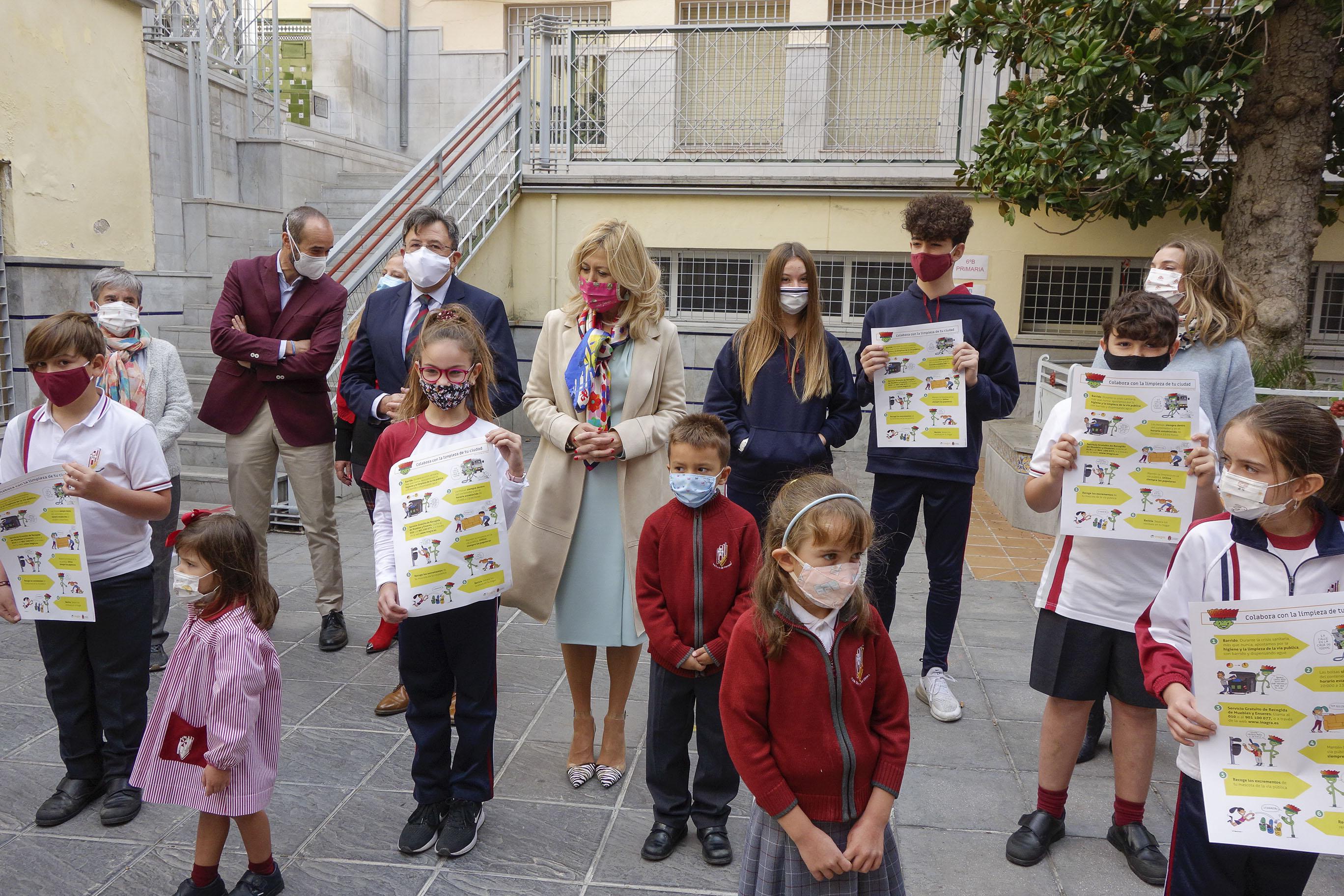 El Ayuntamiento invita a los escolares a mantener limpia la ciudad
