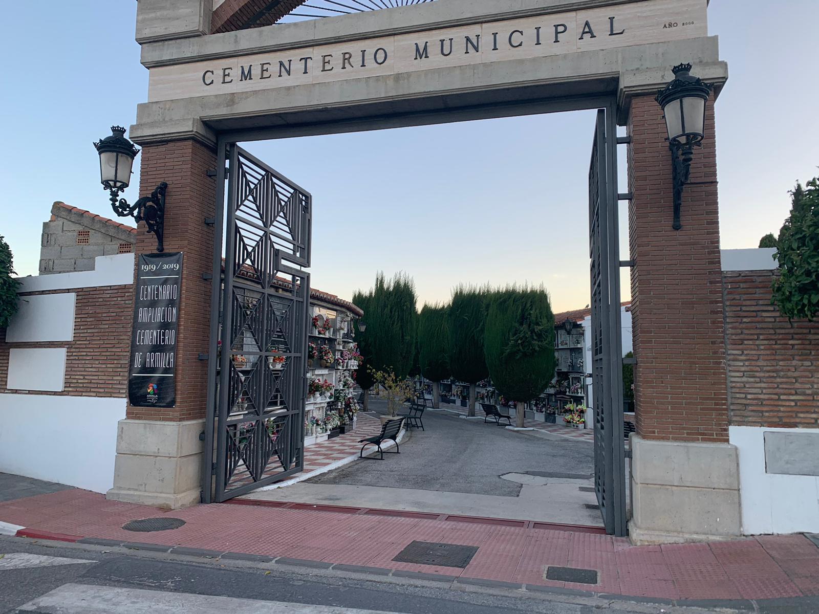 El Ayuntamiento de Armilla pone en marcha un dispositivo especial con motivo de la celebración del día de Todos los Santos