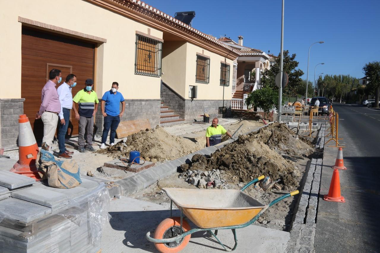 Alhendín retoma las obras de Carretera de Motril