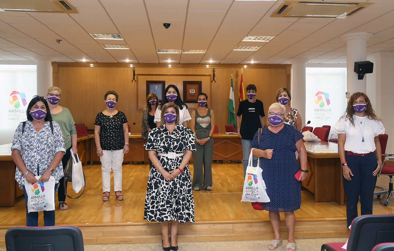 Armilla refuerza su compromiso con la igualdad en la reunión del Consejo Municipal de la Mujer