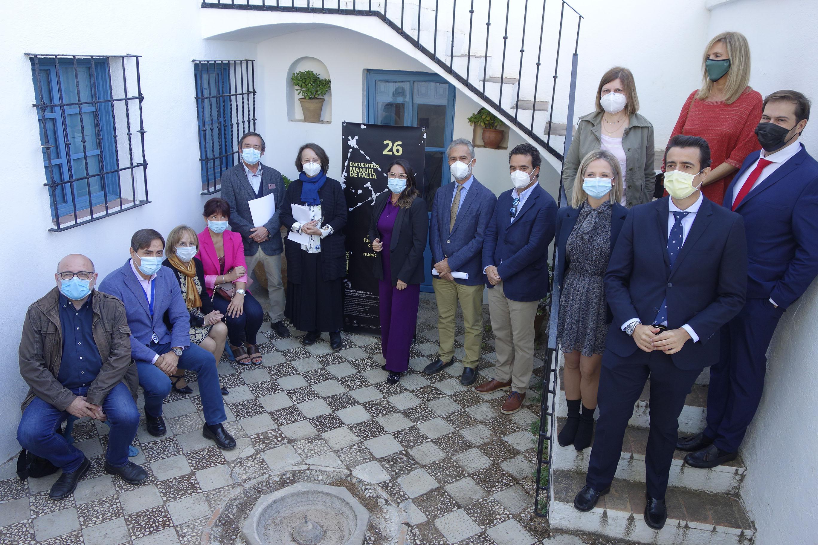 Los Encuentros Manuel de Falla proponen un recorrido de actividades entre Granada, Cádiz y Argentina