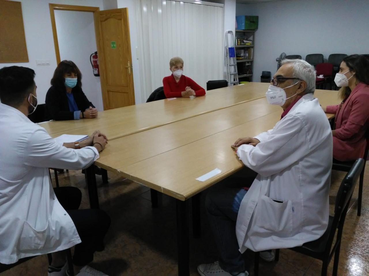 La diputada de Bienestar Social visita las instalaciones de Asperger-TEA