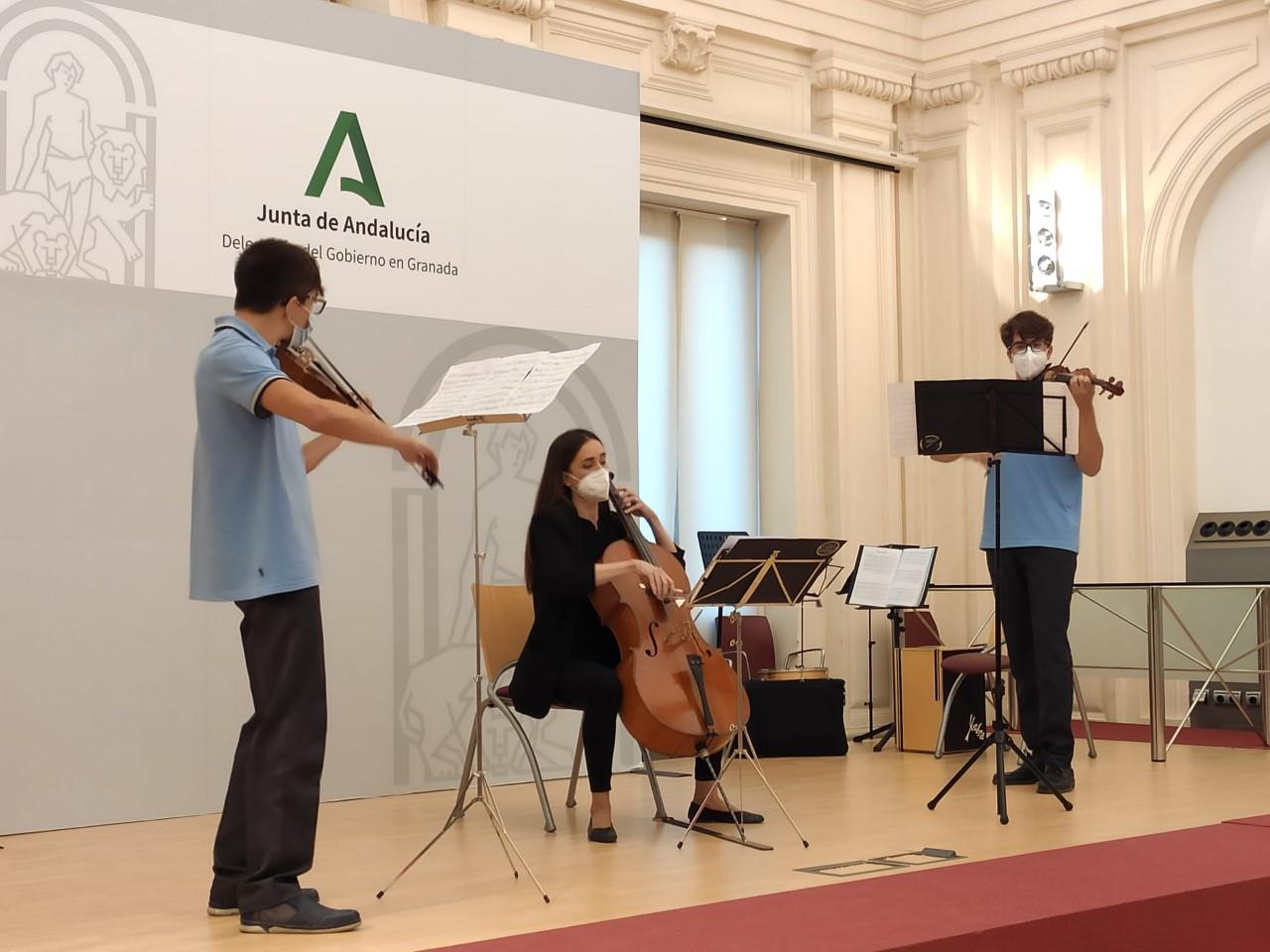La Delegación de Educación acoge el concierto de los premiados en el I Concurso de Interpretación de Música Antigua 2020