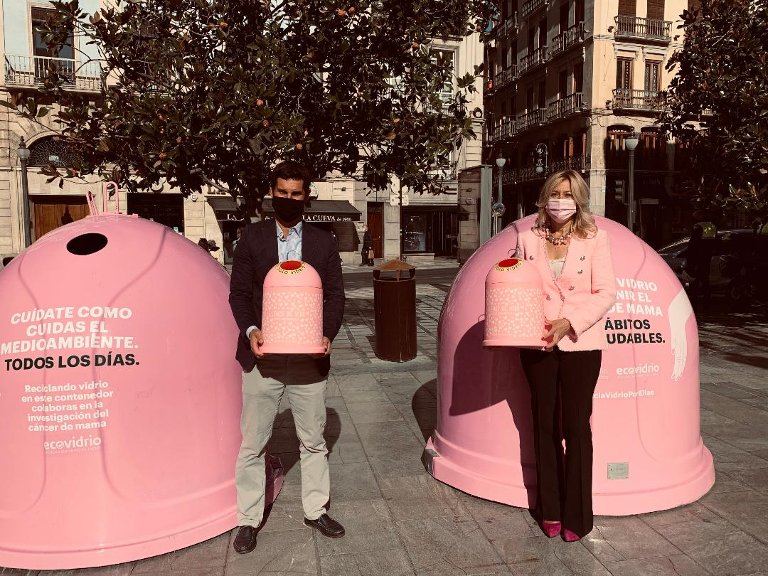 «Recicla con vidrio por ellas», campaña por el Día Mundial del Cáncer de Mama