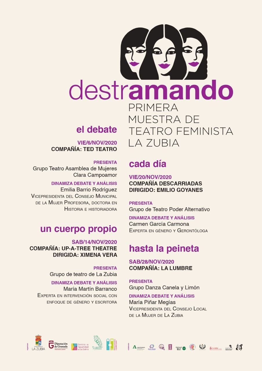 """""""Destramando"""": primera Muestra de Teatro Feminista de La Zubia"""