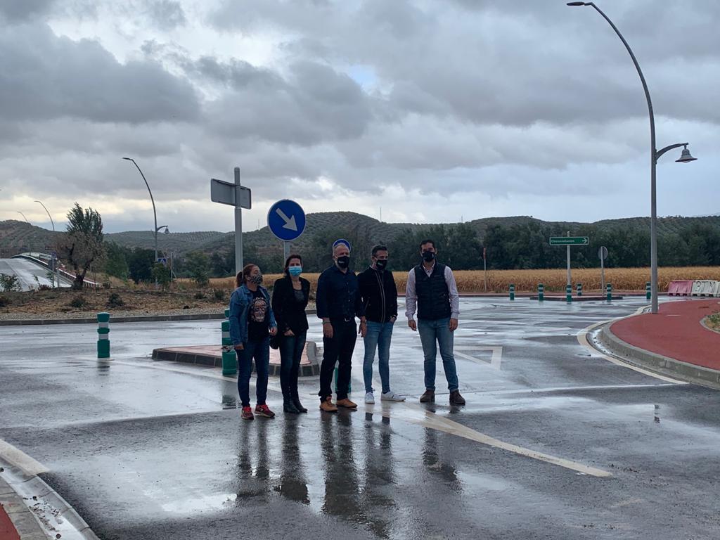 El PP reprocha al Ayuntamiento de Huétor Tájar que un puente no pueda ser usado al no haber construido los viales de acceso