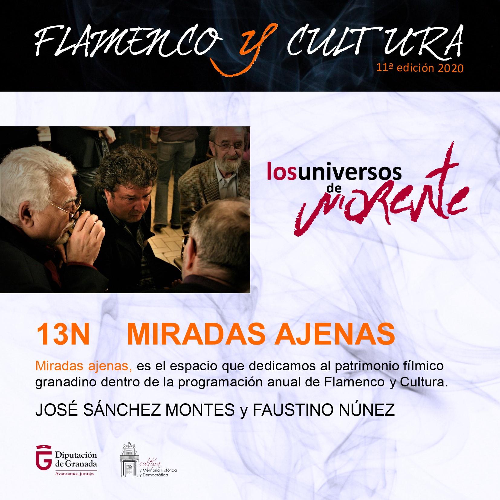 Miradas Ajenas: una selección cinematográfica para recordar la figura de Enrique Morente