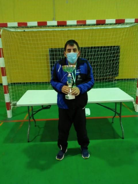 Un granadino gana el campeonato de Andalucía de tenis adaptado