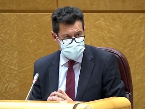 El PSOE defiende en el Senado la labor de la Escuela de Salud Pública
