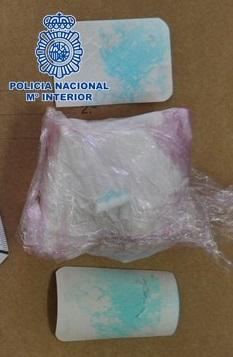 Detenidos en Baza dos individuos con 100 gramos de cocaína
