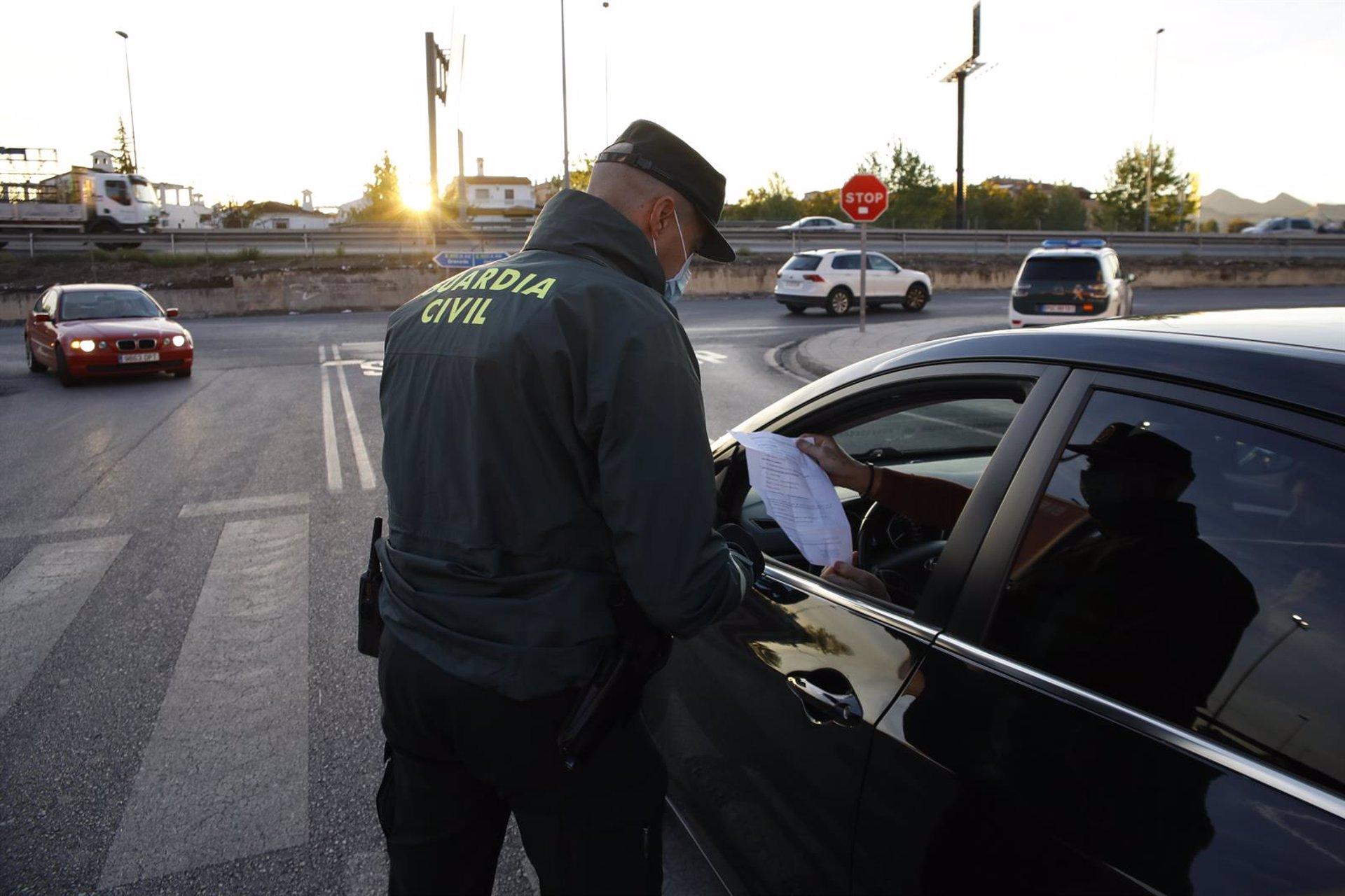 La Guardia Civil detiene a un fugado de la cárcel de Albolote como presunto autor de quince robos