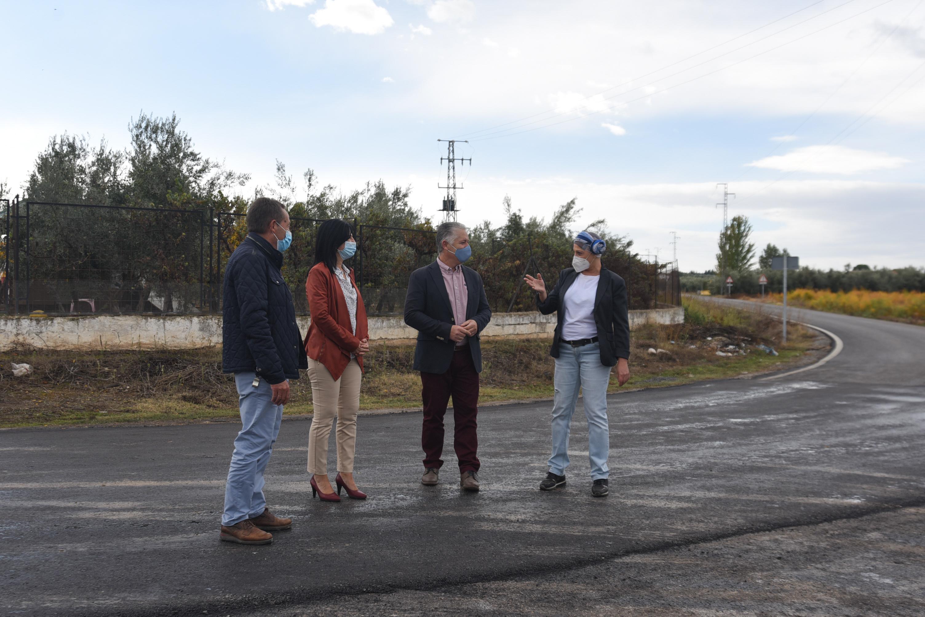 Diputación asumirá la titularidad de dos carreteras de la provincia tras un inversión en su mejora de 1,8 millones de euros