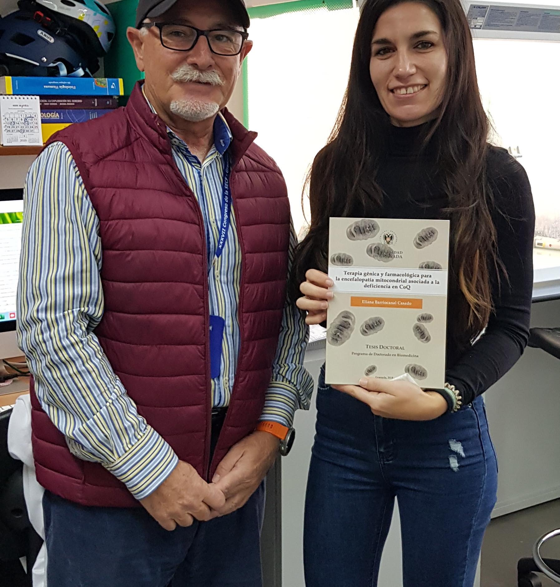 La Sociedad Española de Ciencias Fisiólogicas (SECF) premia la tesis doctoral de  Eliana Barriocanal, investigadora de la UGR