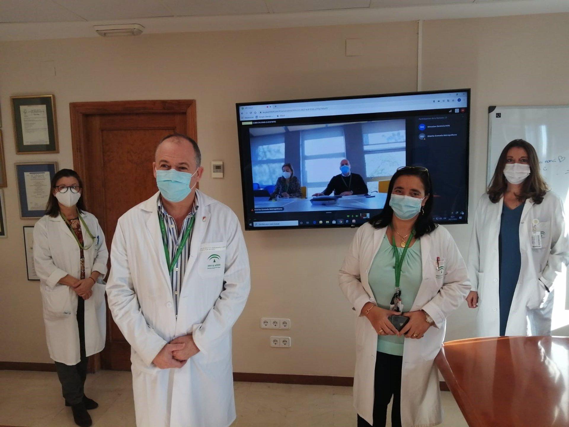 El Hospital Virgen de las Nieves inicia la hospitalización domiciliaria neumológica para pacientes con EPOC